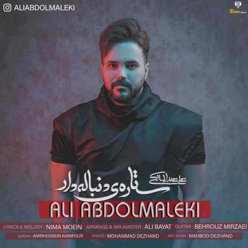 دانلود موزیک جدید علی عبدالمالکی ستاره ی دنباله دار